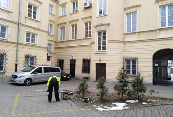 Geotechnical investigations in the area of Canaletta Street, Warsaw